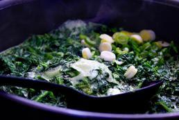 Makaron sojowy ze szpinakiem i tofu – przepis