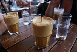 Kawa mrożona, frappe - przepis