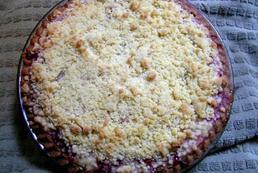 Ciasto drożdżowe z rabarbarem - przepis