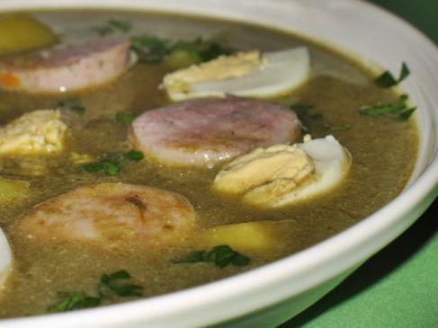 Zupa szczawiowa - przepis