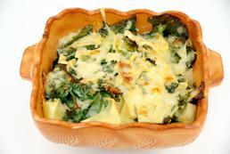 Lasagne ze szpinakiem – przepis