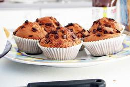 Muffinki z białym serkiem - przepis