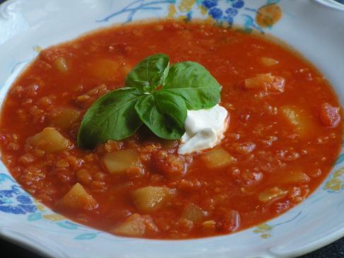 Zupa z soczewicy - przepis