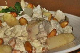 Duńska sałatka ze szparagami - przepis