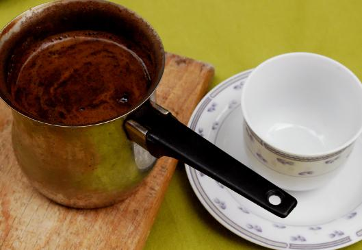 Kawa po turecku - przepis