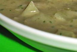 Zupa rybna ze szczawiem i cydrem - przepis
