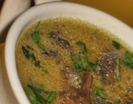 Bożonarodzeniowa zupa grzybowa - przepis
