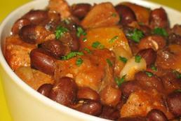 Zupa fasolowa z ziemniakami - przepis