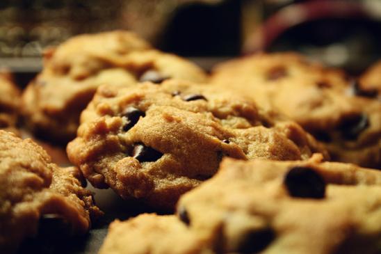 Amerykańskie cookies - przepis