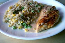 Kurczak w sosie śmietanowym – przepis