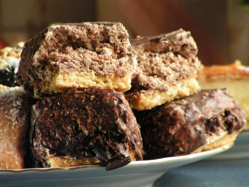 Kokosanki czekoladowe - przepis