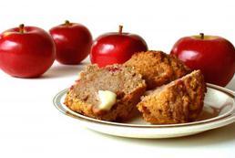 Babeczki z jabłkami - przepis