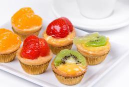Babeczki z owocami - przepis