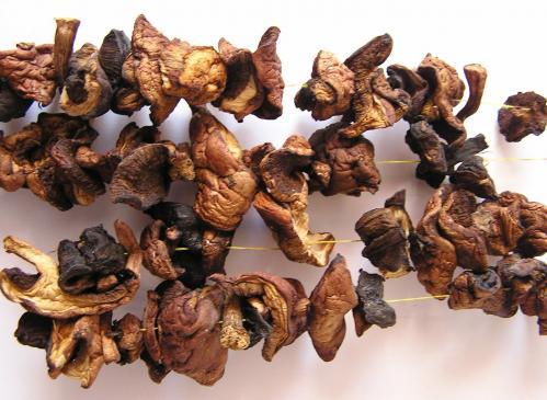Sos z suszonych grzybów - przepis