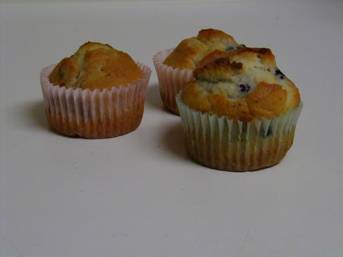 Muffinki z jagodami – przepis