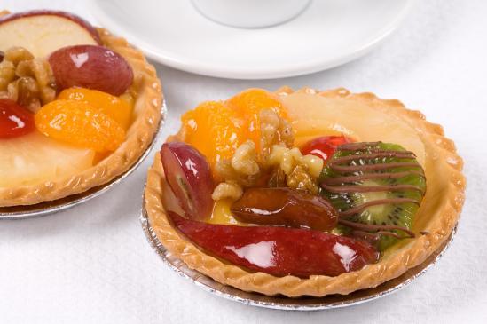 Muffinki z owocami – przepis