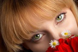 Makijaż do oczu zielonych