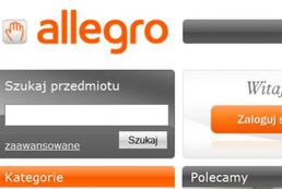 Kupowanie torebek na Allegro