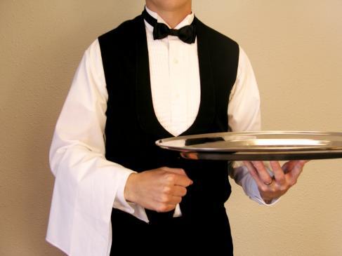 Jak powinien zachowywać się kelner?
