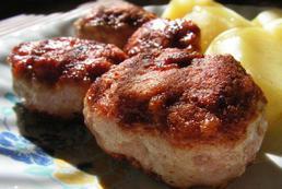 Stek z mięsa mielonego – przepis