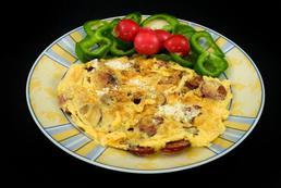 Omlet wegetariański – przepis