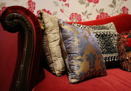 Tapety i tkaniny we wnętrzach