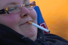 Gdy dziecko pali papierosy
