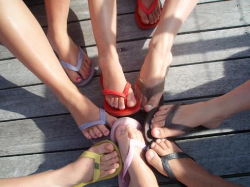 Pedicure żelowy - krok po kroku