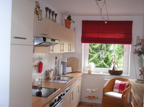 Aranżacja okna kuchennego