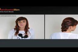 Fryzura dla cienkich, delikatnych włosów - Videoporada