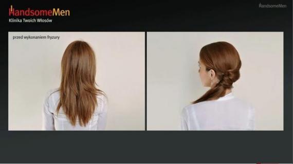 Proste upięcie dla kręconych włosów - Videoporada