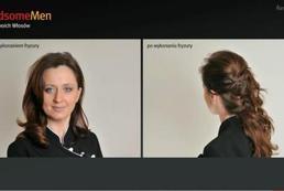 Szybka fryzura wieczorowa - Videoporada