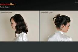 Wysoko upięta fryzura - Videoporada