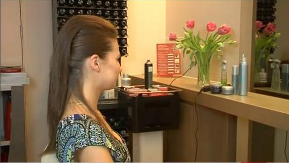 Irokez na prostych włosach - Videoporada