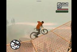 Jak zrobić triki na BMX w GTA SA?