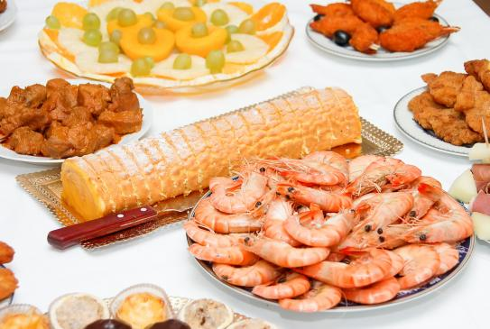 Uroczysta kolacja - menu
