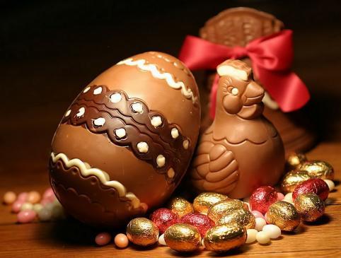 Czekoladowe jajka wielkanocne - przepis