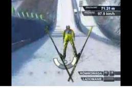 Gra Skoki narciarskie - sterowanie
