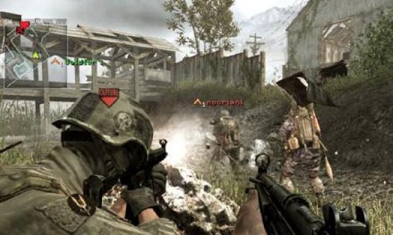 Call of Duty 4 - jak wykorzystać ukryte miejsca?