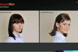 Włosy średnie dynamiczna fryzura - Videoporada