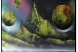 Jak się malować obrazy sprayem?