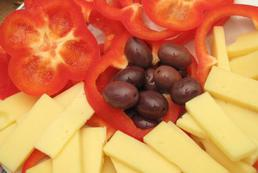 Rolada z żółtego sera - przepis