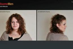Szybka fryzura z kręconych włosów - Videoporada