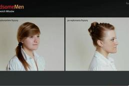 Młodzieżowa fryzura z kokardą - Videoporada