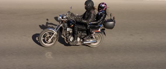 Motocykl - komunikacja z pasażerem