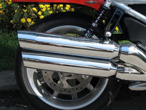Układ wydechowy w motocyklu - zmiana tłumika