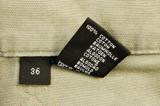 Co oznaczają symbole na metkach ubrań?