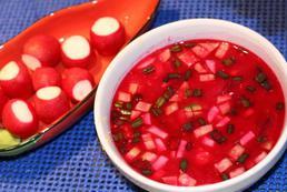 Zupa z rzodkiewek - przepis