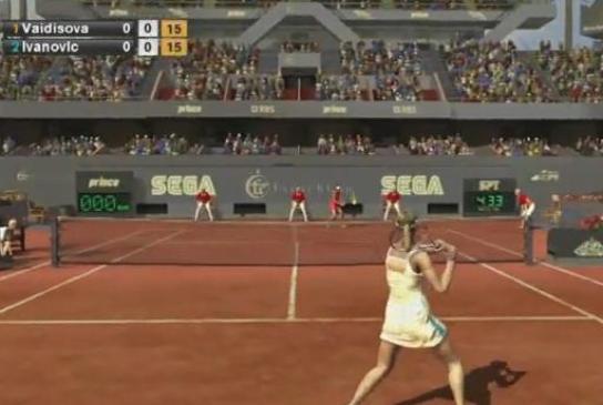 Virtua Tennis – sterowanie