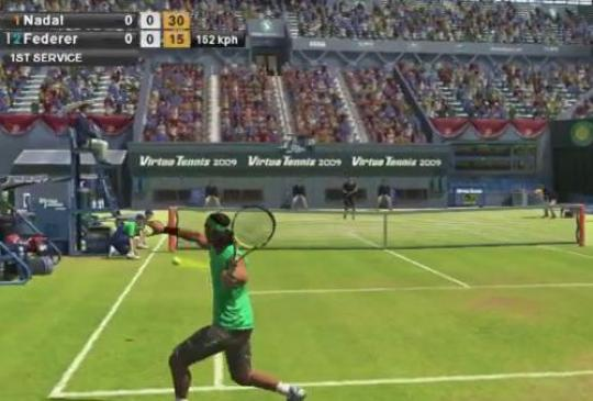 Virtua Tennis – pojedynki
